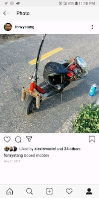 red and black motorized scooter screenshot North Hills, 91343