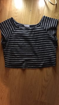 Girls size small cropped top