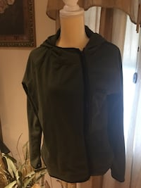 """Victoria Secret """"Pink"""" Army Green Zip Hoodie - Brand New with tags! Warwick, 02888"""