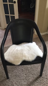 black leather padded rolling chair Bakersfield, 93311