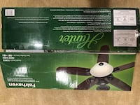 Hunter Ceiling Fan w/light and remote Chantilly, 20152