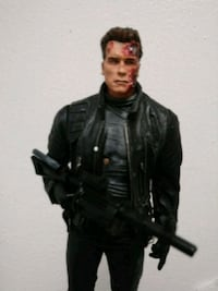 Terminator 2 figurine with stand  Houston, 77084