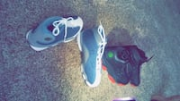 pair of black-and-white Nike basketball shoes Oklahoma City, 73114
