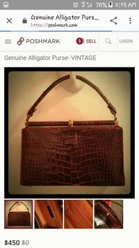 Genuine Alligator made in the USA
