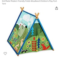 Kid Made Modern Friendly Fields Woodland Children's Play Fort Tent Virginia Beach, 23464
