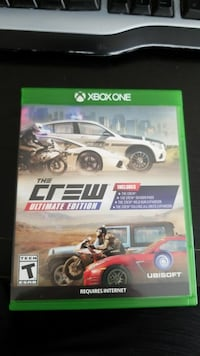Xbox one the crew ultimate edition Middletown, 19709