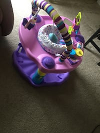 baby's pink and purple exersaucer Washington, 20020