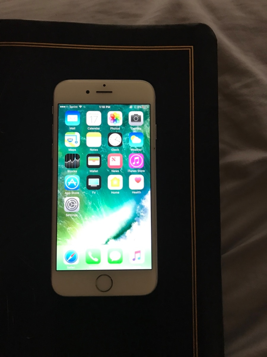 used silver iphone 6 16g unlocked in fort worth. Black Bedroom Furniture Sets. Home Design Ideas
