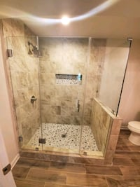 showerdoor installation Old Town Manassas