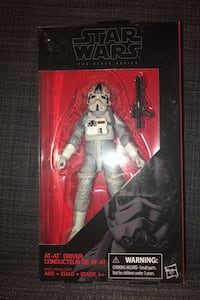 Star Wars The Black Series Imperial AT AT Driver