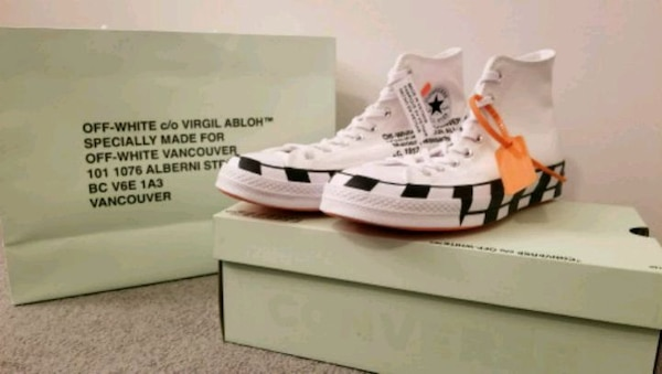 fb00c8d3267 Used Off White Converse for sale in Burnaby - letgo