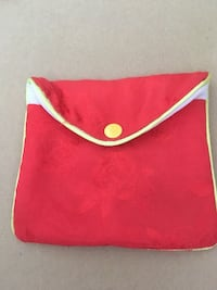 Red and yellow pouch/change purse  Ellicott City, 21043