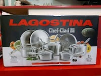 New in Box Lagostina Pots Bolton, L7E