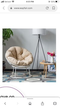 Buxton Patio Chair with Cushions Baltimore, 21230