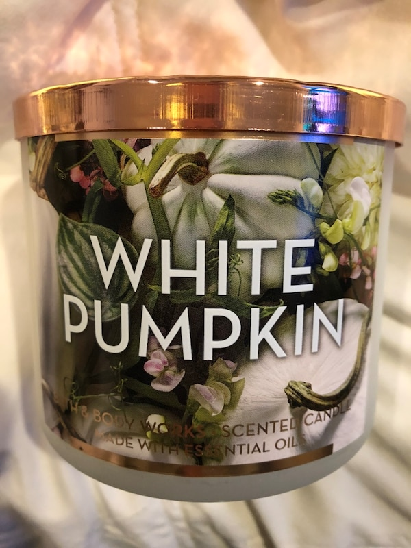 White Pumpkin BnBW Candle