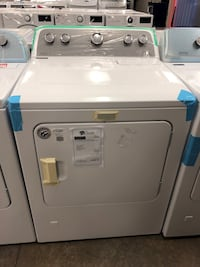 TAKE HOME FOR $40 DOWN! Maytag Gas Dryer Front Load White #2721