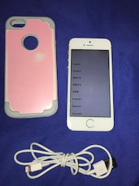 silver iPhone 5s with white case Heber, 92249