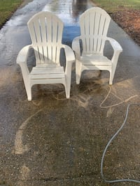 lawn chairs.