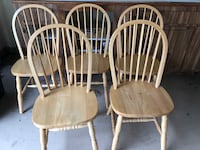 5 Kitchen Chairs very sturdy ! Perfect for extra guests !  Spring Hill, 34609