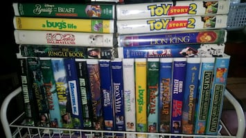 DISNEY *HOME VIDEO*  VHS Tapes  $5 each, while sup