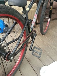 black and red mountain bike Surrey, V3W