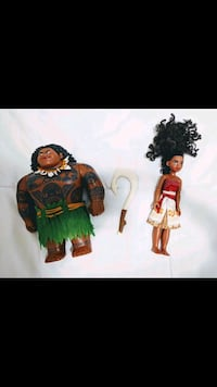 Disney Moana and Maui Doll toys Lauderhill, 33319