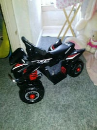 black and red ATV ride-on toy York, 17402