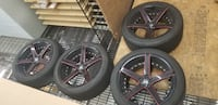 Marquee 20in rims staggered with continental tires for LOW price Germantown