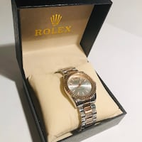 Rose gold and silver Rolex Calgary, T3K 4W4