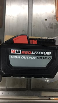 Milwaukee M18 High output HD 12.0 battery . New released . Firm price , no offer Langley, V2Y 0H9