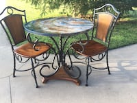 Bistro Set (Resin Art Top) Weatherford, 76087