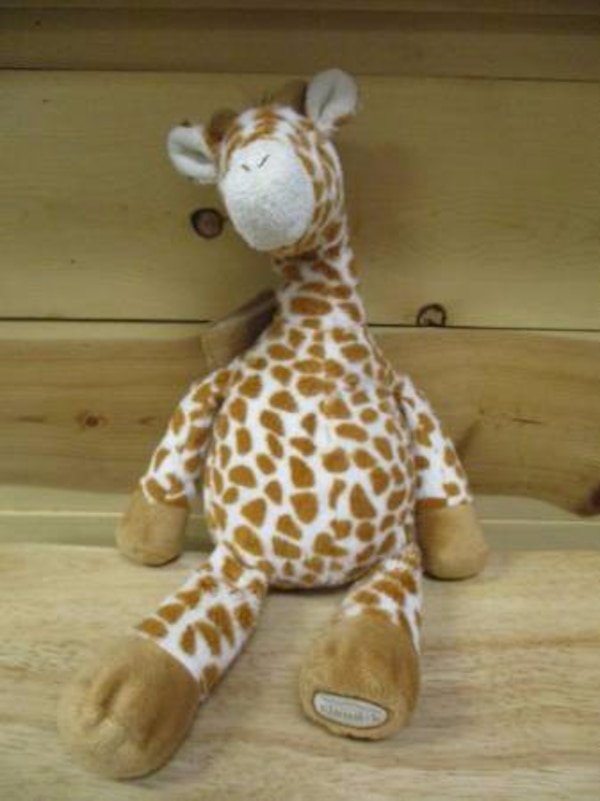 gentle giraffe on the go travel cloud b sound machine baby soother