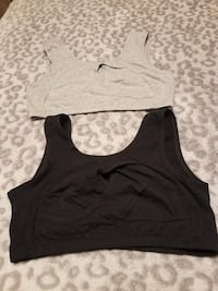 2 LADIES ATHLETIC BRAS- BRAND NEW!!! SIZE MEDIUM. ONE BLACK AND ONE WHITE Knoxville