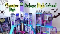 Minter High Mega High School Playset Woodbridge