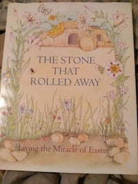 Large hardback The Stone That Rolled Away Polk County
