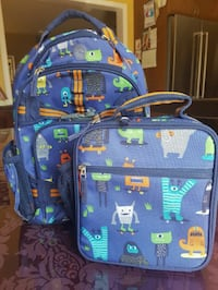 Pottery Barn Backpack and Lunch Box  $30
