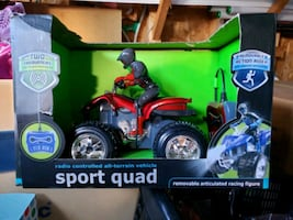 Sport Quad R/C all-terrain vehicle.