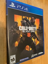 Call of Duty Black Ops 4 PS4 Silver Spring, 20906