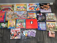 Huge Lot of Board Games & Puzzles
