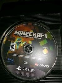Minecraft Sony PS3 game disc Jacksonville, 32211
