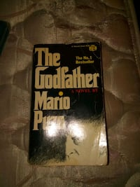 The Godfather book Kingston, 18704