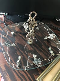 silver and white beaded necklace Fairfax, 22032