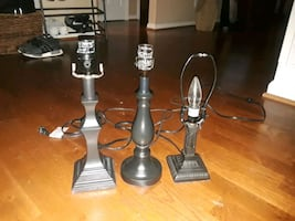 3 Lamp Bases