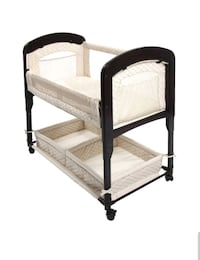 Arm's Reach Cambria Co-Sleeper Bassinet Canton