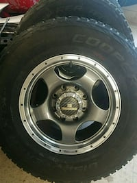 4 17 WHEELS AND TIRES 170MM 8 LUG  Deltona, 32738