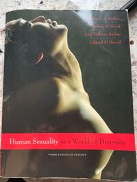 Book Human sexuality in a world of diversity Montréal, H1E 6S3
