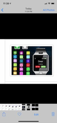 Touch HD smart watch Spring, 77386