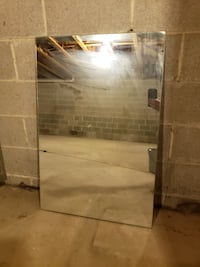 """24"""" x 36"""" frameless mirror. Pick up in West Chester."""