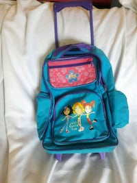 Kids Rolling backpack- excellent  condition