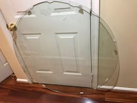 42 inch Round Glass Table Top 34 mi